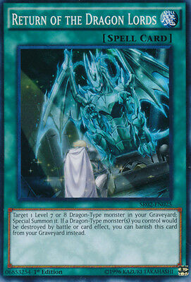 Return of the Dragon Lords - SR02-EN025 - Super Rare - 1st Edition x1
