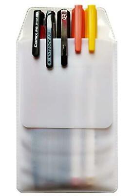 Xvsge 6pcs White Pocket Protector For School Hospital Office Pen Leaks