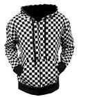 Womens Checked Hoodie