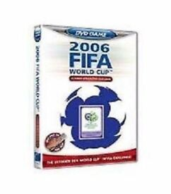 100 X DVDS 2006 FIFA World Cup Licensed Interactive Quiz Games NEW IN SEALED CASE