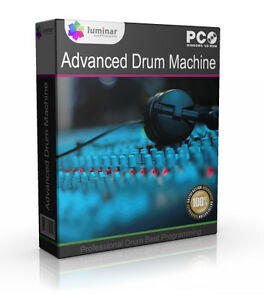 Pro Drum Machine Beat Music Creation Software Computer Program