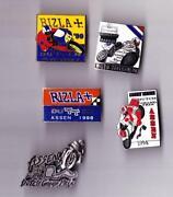 Motorcycle Pin Badges
