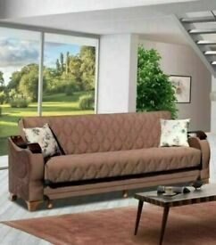 ❄️🥳 2021 FLASH NEW TURKISH LINEN SOFA BED HIGH QUALITY SETTE FAST DELIVERY