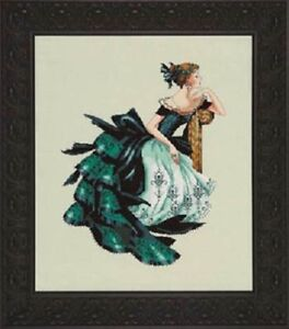 Portrait of Veronica by Mirabilia MD-147 cross stitch pattern