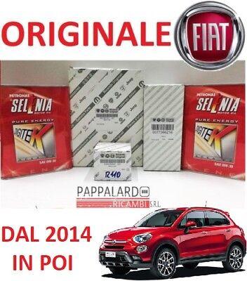 KIT TAGLIANDO FILTRI ORIGINALI + OLIO SELENIA FIAT 500 X 1.6 E-torq ETORQ