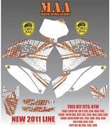 KTM EXC Graphics