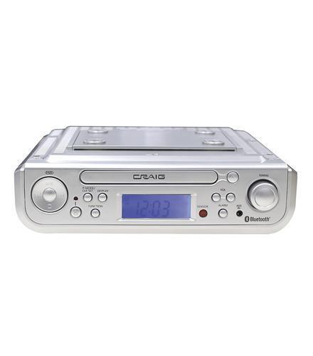 craig bluetooth am fm stereo undercabinet cd player with remote ckr1307. Interior Design Ideas. Home Design Ideas