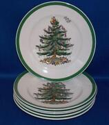 Spode Christmas Tree Salad Plates