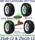 ATV Tires 25X8-12 25X10-12