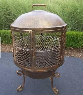 Oakland Living Feast Cast Iron Wood Burning Pagoda OAA2832 for sale  Hyde Park