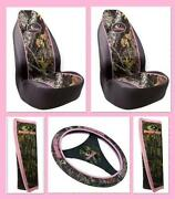 Pink Camo Seat Covers