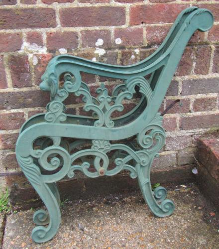 Cast Iron Bench Ends Ebay
