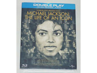 DVD FILM MOVIE MICHAEL JACKSON THE LIFE OF AN ICON BLURAY BLU RAY DTS DOUBLE PLAY