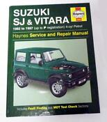 Suzuki Vitara Haynes Manual