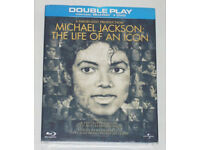 DVD FILM MOVIE MICHAEL JACKSON THE LIFE OF AN ICON BLURAY BLU RAY DTS DOUBLE PLA