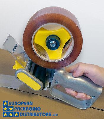 EXCELL Brand Heavy Duty ALUMINIUM Light Weight Hand Tape Gun Dispenser
