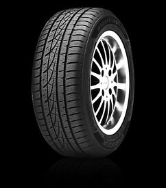 Hankook icept evo winter tyres 205 50/R17 93V full set of 4