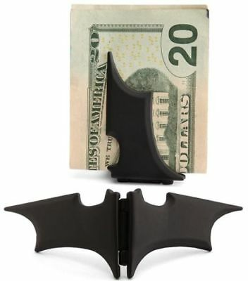 Black Money Clip - New Men's Batman Batarang Magnetic Money Clip in Black Or Gold Or Silver