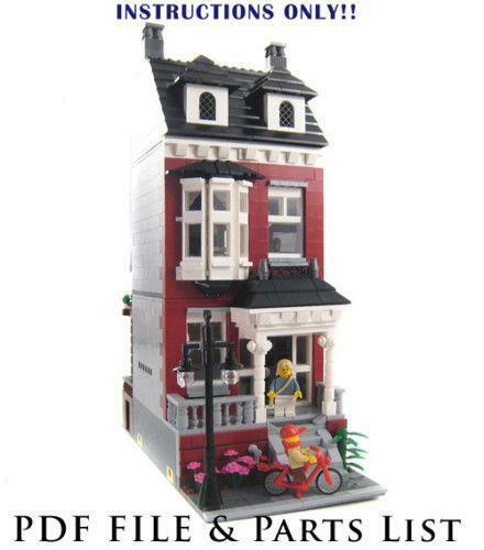 Lego Custom House Ebay