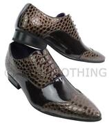 Mens Shiny Shoes