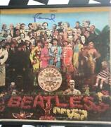 Signed Beatles Record