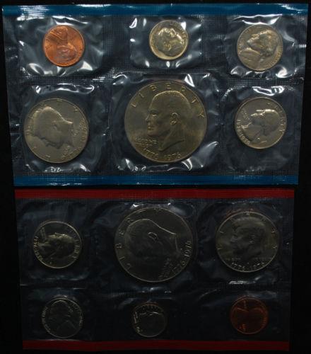 1976 Uncirculated Coin Set Ebay