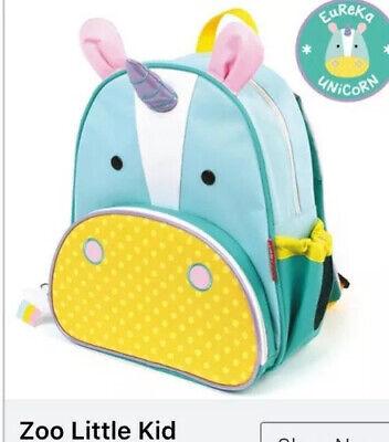 NEW Unicorn Skip Hop Zoo Pack Little Kid Backpack