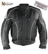 Black Armored Motorcycle Jacket