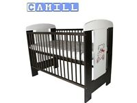 Baby Cot with Foam Mattress. (Used)