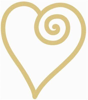 Heart Shapes (Wood Swirl Heart Shape, Unfinished Shape, Wood Cutout, Wooden Paintable)