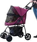 M 4-Wheel Pet Stroller Dog Strollers