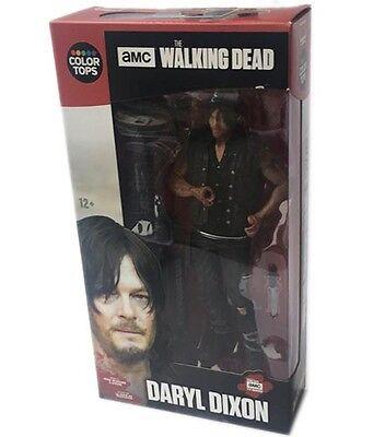 DARYL DIXON The Walking Dead Figur Actionfigur NEU OVP Color Tops Red # 6 v 8