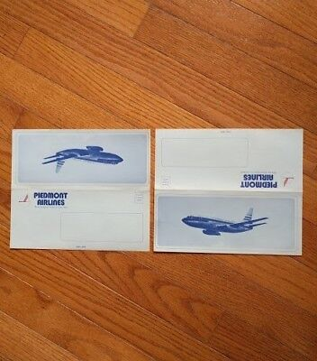 Piedmont Airlines Vintage Stationary - Rare - Never used, blank inside