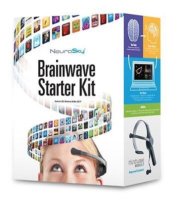 Mobile Starter Kit (NeuroSky MindWave Mobile 2: Brainwave Starter Kit Free shipping)