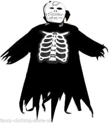 Halloween Fancy 9-11  Costume Party Skeleton Monster Ghost Cape Zombie SCREAMER