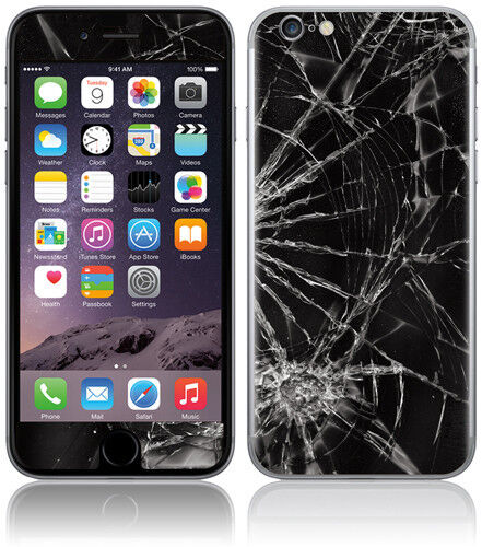 Iphone 6s Cracked Glass Broken Screen Repair Service