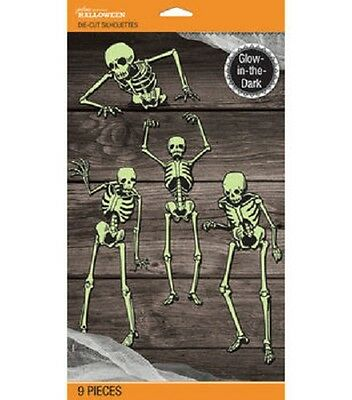 Halloween Skeleton Silhouette (Jolee's Boutique Halloween Skeleton Glow in the Dark Mega Silhouette Pack)