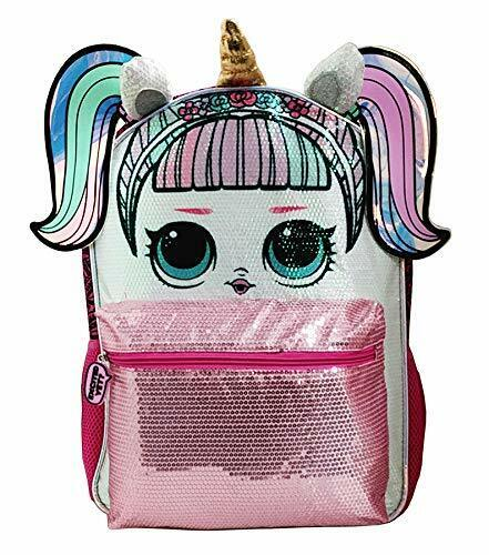 "16"" LOL Surprise! Large Unicorn Sequin Backpack New with Tag - Licensed Product"