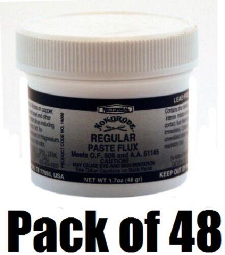 (48) ea Nokorode 14000 1.7oz Regular Soft Soldering Lead Free Paste Flux