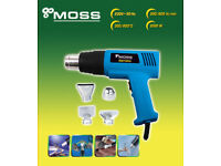 Moss Hot air gun new in box with attachments