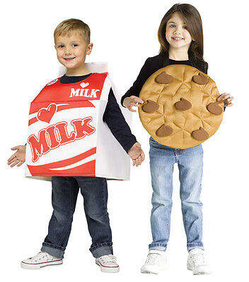 Toddler Milk and Cookie Costume (Cookie Halloween Costume Toddler)