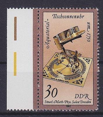 DDR Mi Nr. 2799 F 31 **, PF Rasterfehler neben AL, Plattenfehler, postfrisch MNH