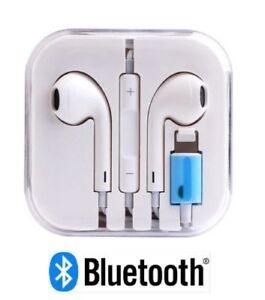 Bluetooth Lightning Earphones Headphones for iPhone 7 8 Plus X With Mic