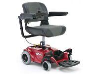 Electric wheel chair - like new.