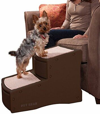 2 Step Premium Pet Ladder Dog Cat Puppy Stairs Steps Ramp Bed Sofa Non Slipping