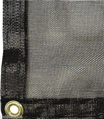 Mesh Tarp Shade Cloth 20' x 30' -70% shade -Net w/ Brass Grommets, used for sale  Dayton