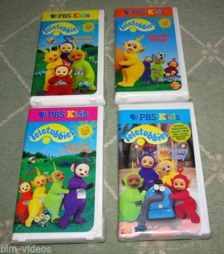 Teletubbies VHS Lot