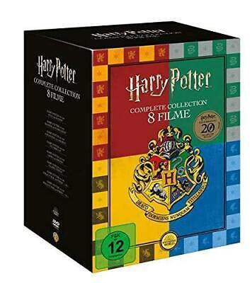 Harry Potter Kollektion komplette Film Box 8DVDs Neu OVP ()