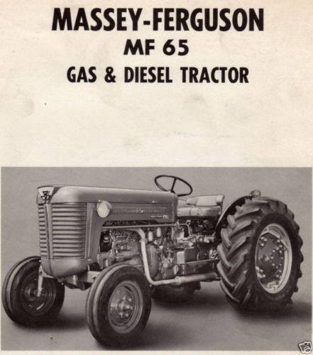 oliver tractor wiring diagram massey ferguson 65    tractor    ebay  massey ferguson 65    tractor    ebay