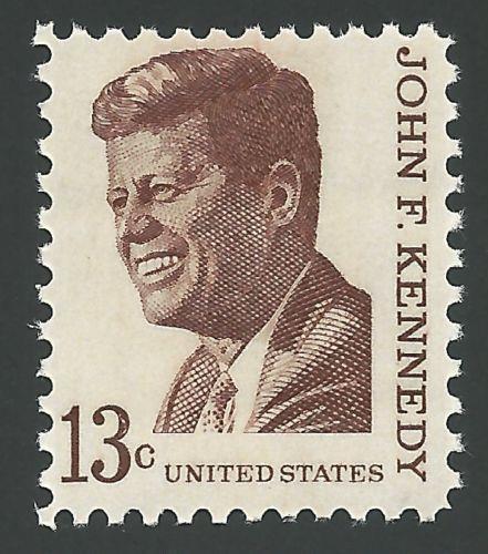 SALE! 1967 35th President John F. Kennedy JFK Prominent American US Stamp MINT !
